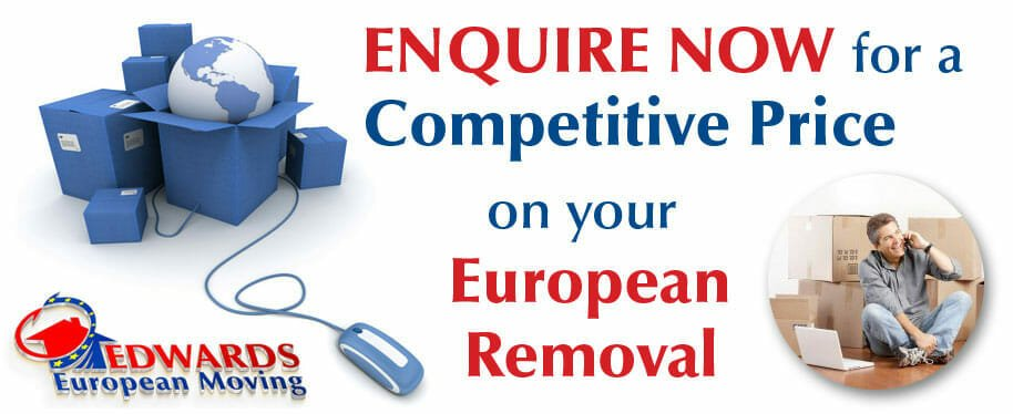 competitive rates on European removals