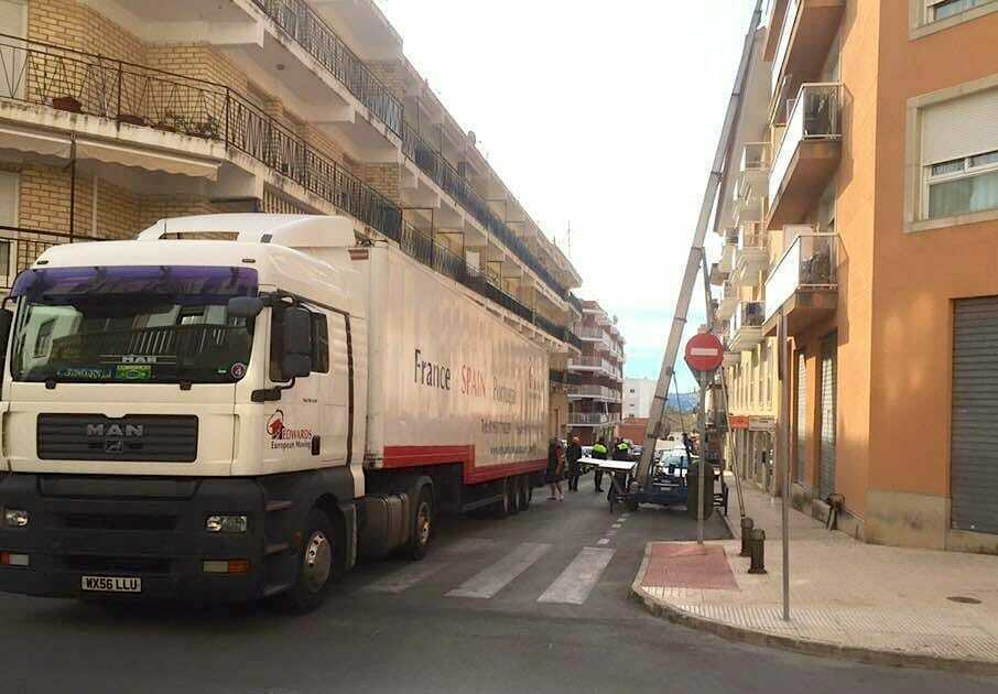 Removals to Javia Spain