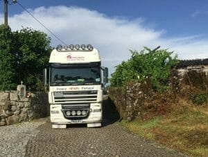 Removals company to Portugal from UK