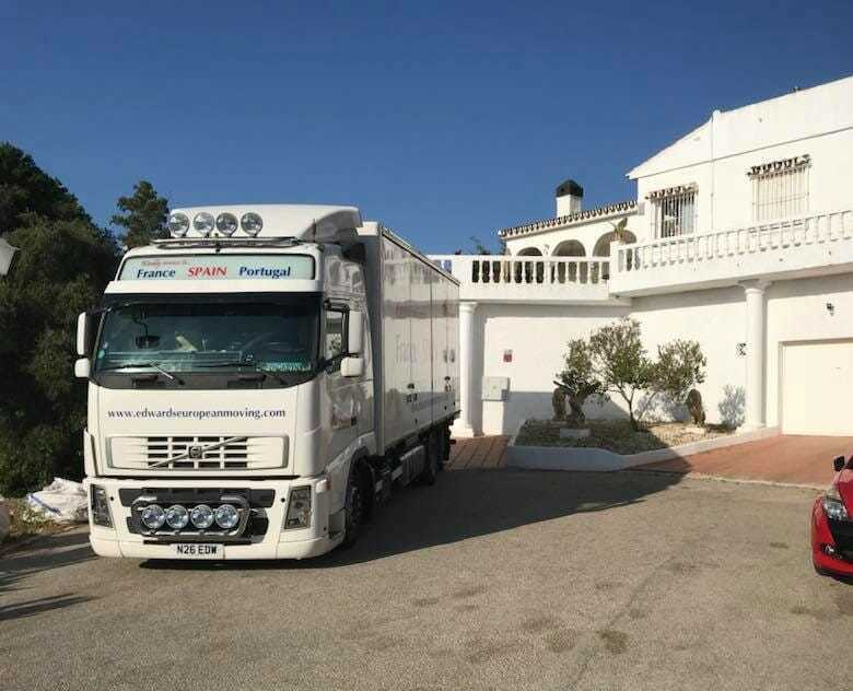 Removals to Mijas Spain