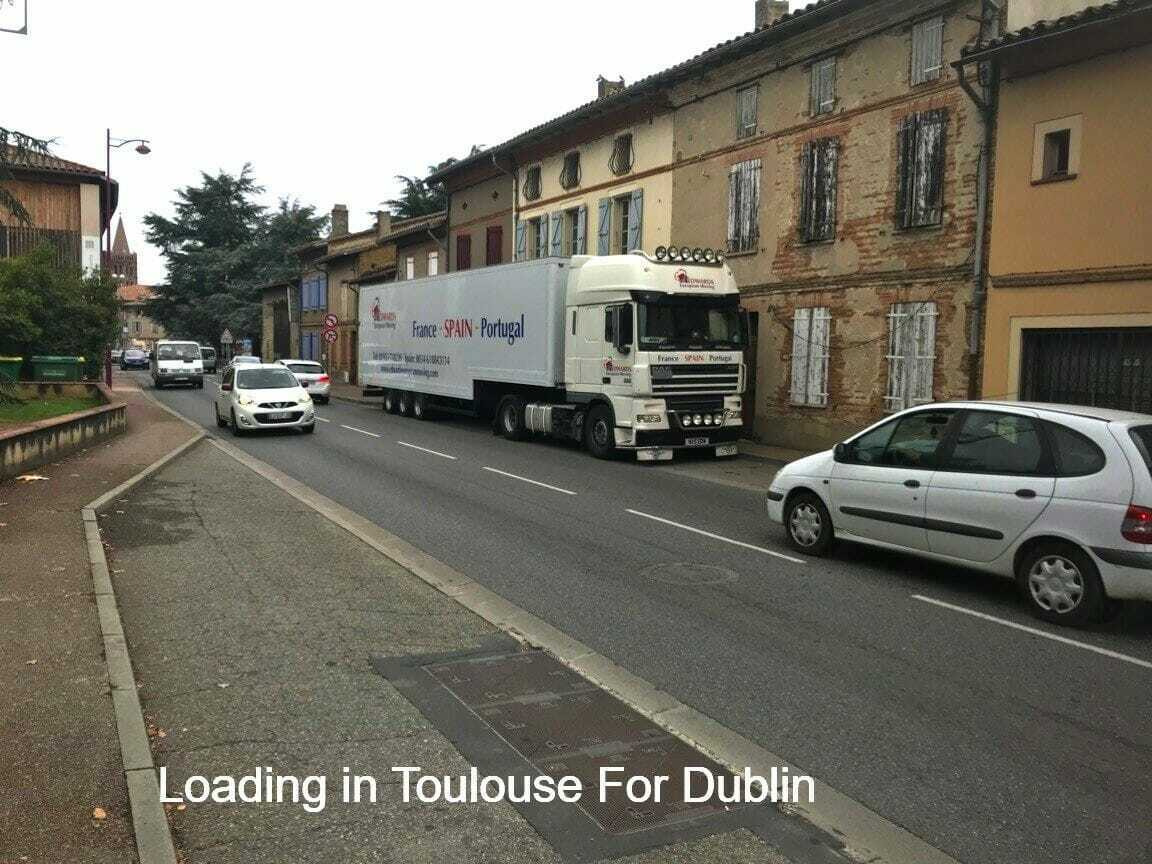 Removals to Toulouse France
