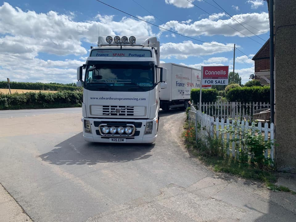 removals UK to Europe