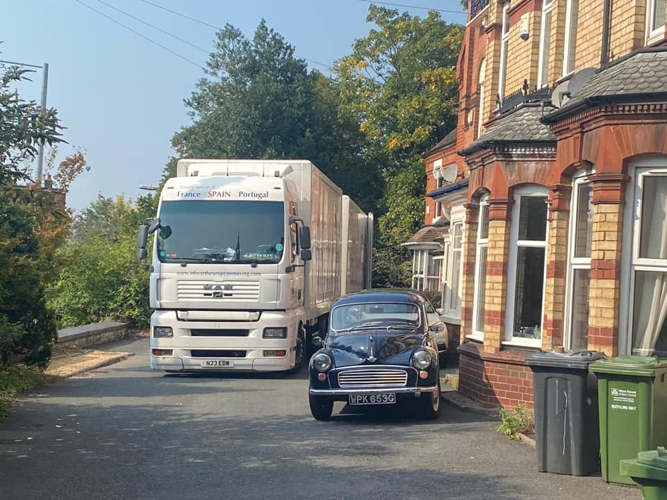 Weekly removals to Europe from UK